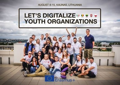 Let's Digitalise Youth Organisations with Erasmus+